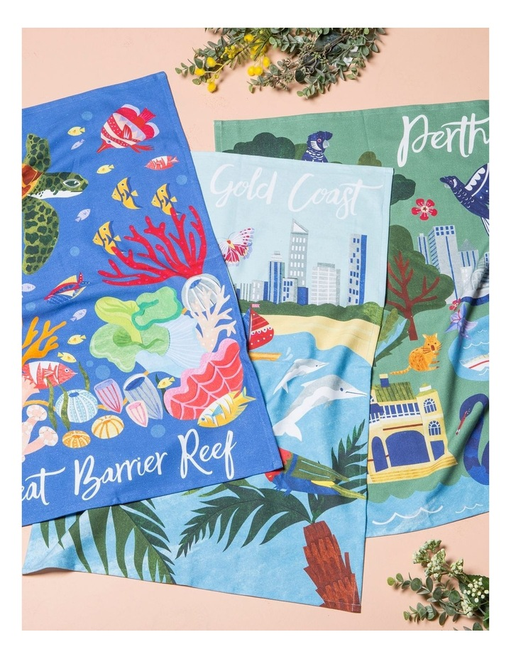 Gold Coast Tea Towel image 3