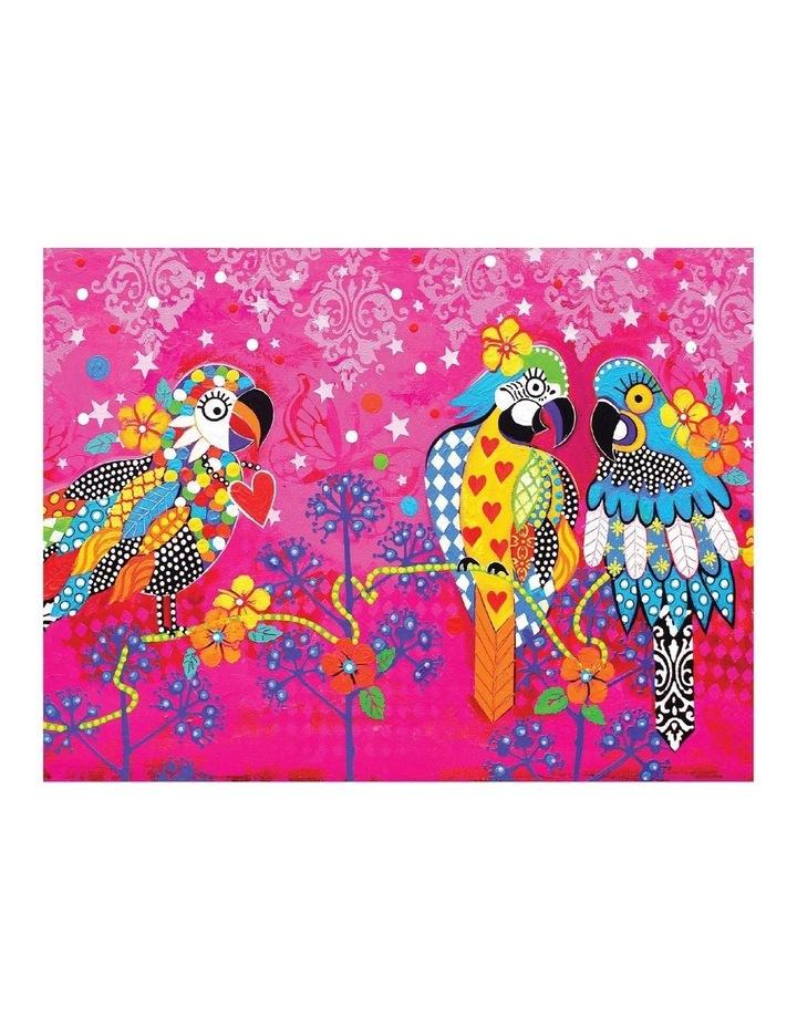 Love Hearts Tea Towel 50x70cm Araras image 1