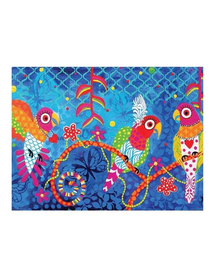 Love Hearts Tea Towel 50x70cm Rainbow Girls image 1