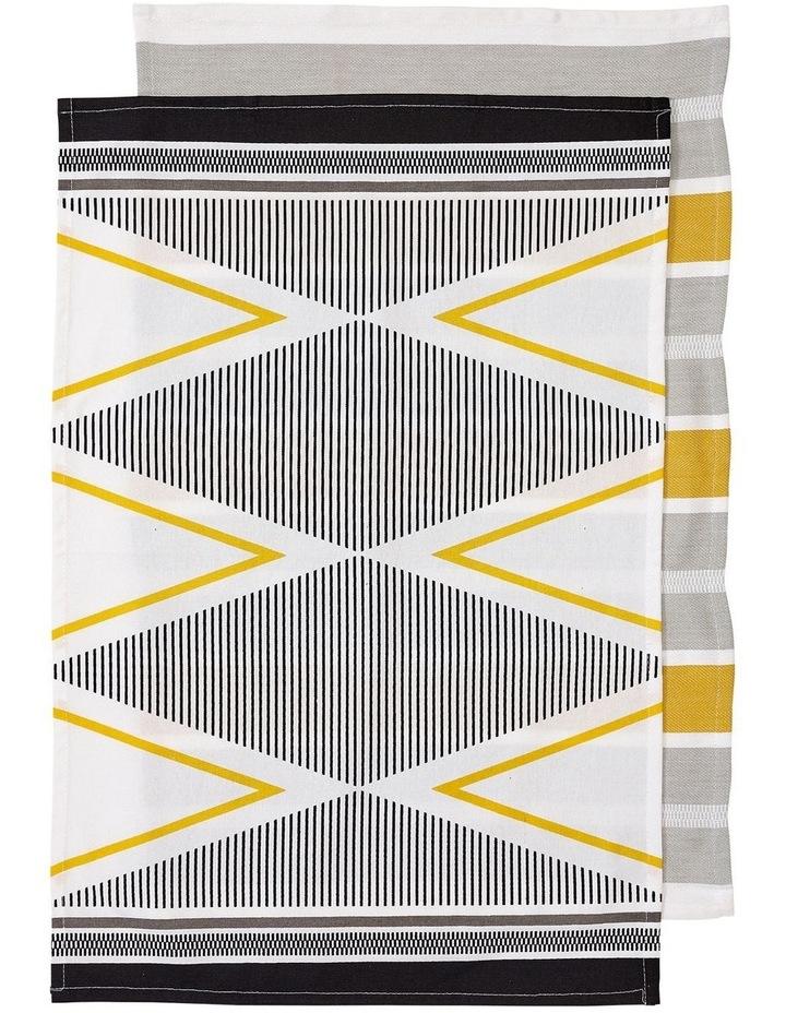 Emerson Grey 2pk Kitchen Towel image 1