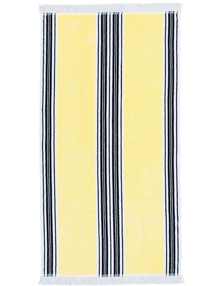 Regatta Beach Towel in Clove image 1