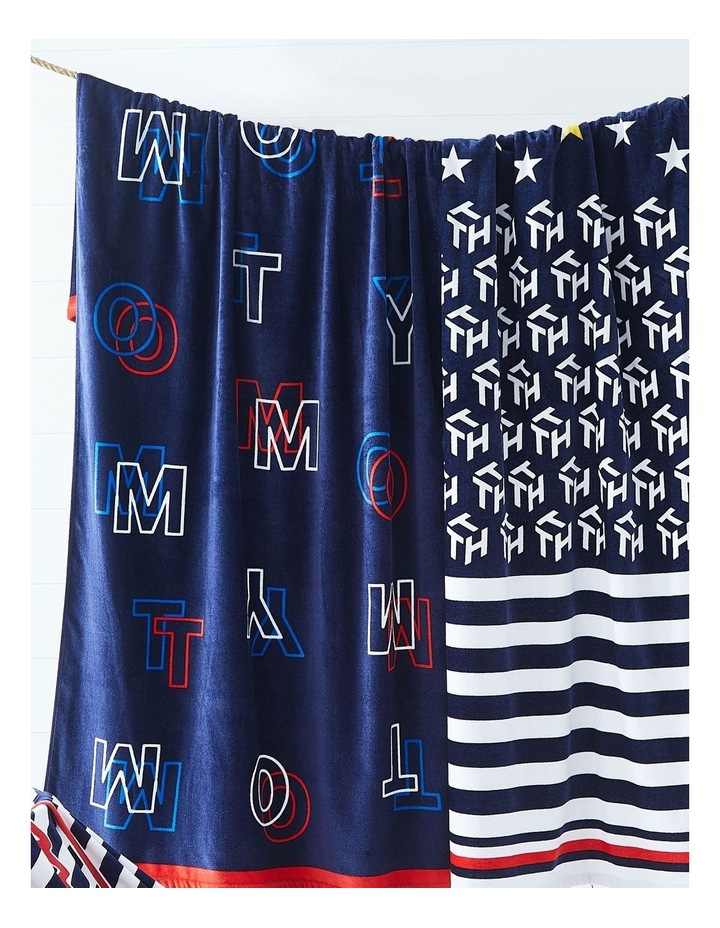 Tommy Optical Beach Towel image 2