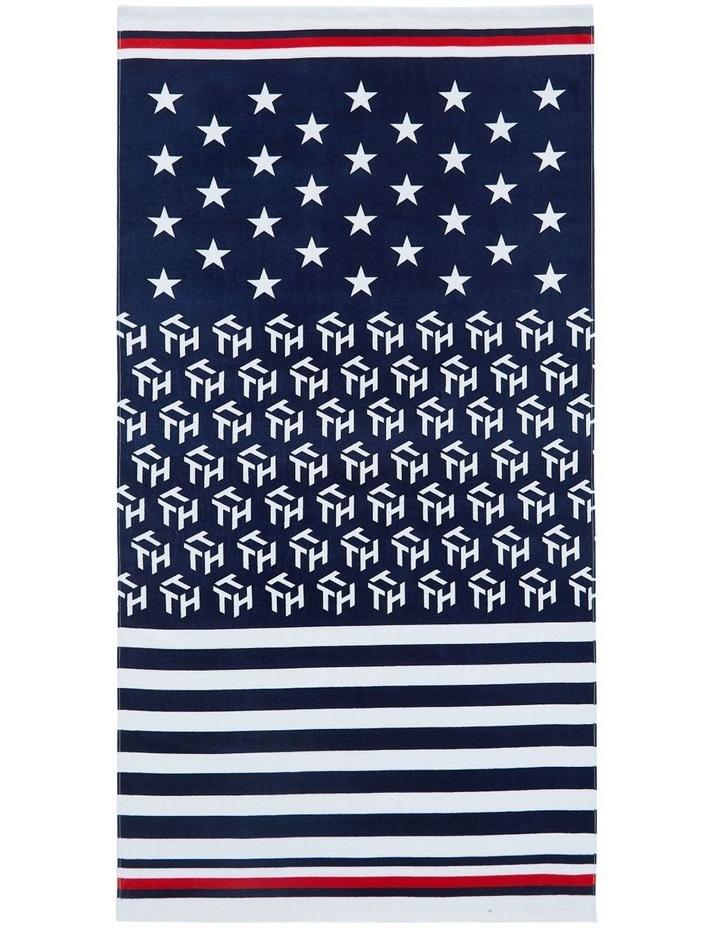 American Remix Beach Towel image 1