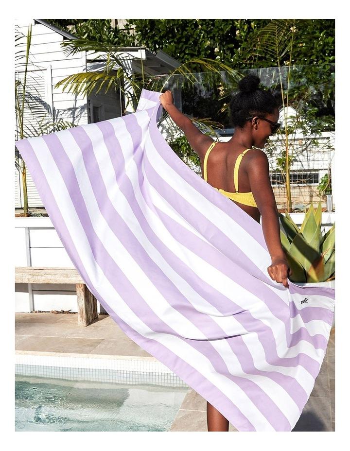 Cabana Beach Towel In Lombok Lilac image 4