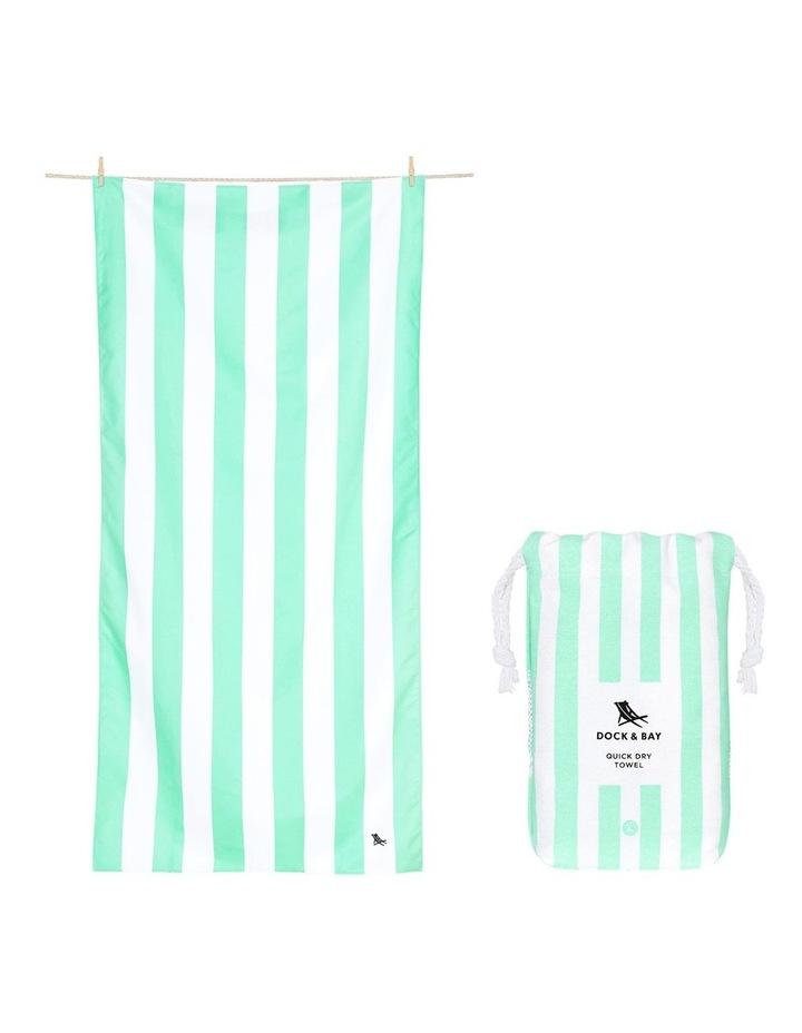 Cabana Beach Towel In Narabeen Green image 1