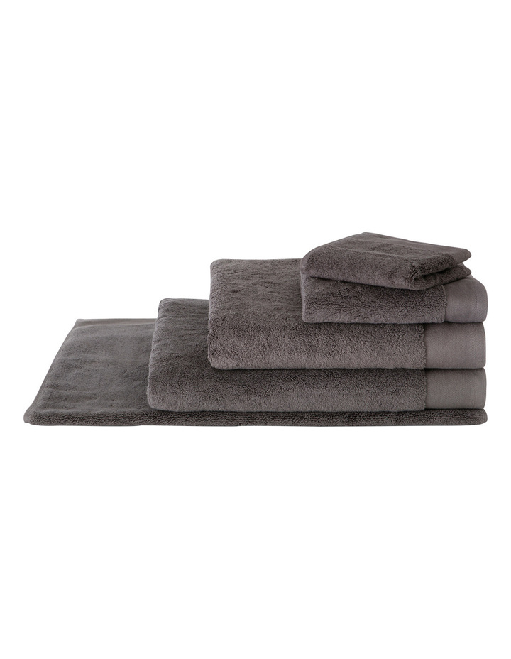 Luxury Retreat Collection Towel Range in Smoke image 1