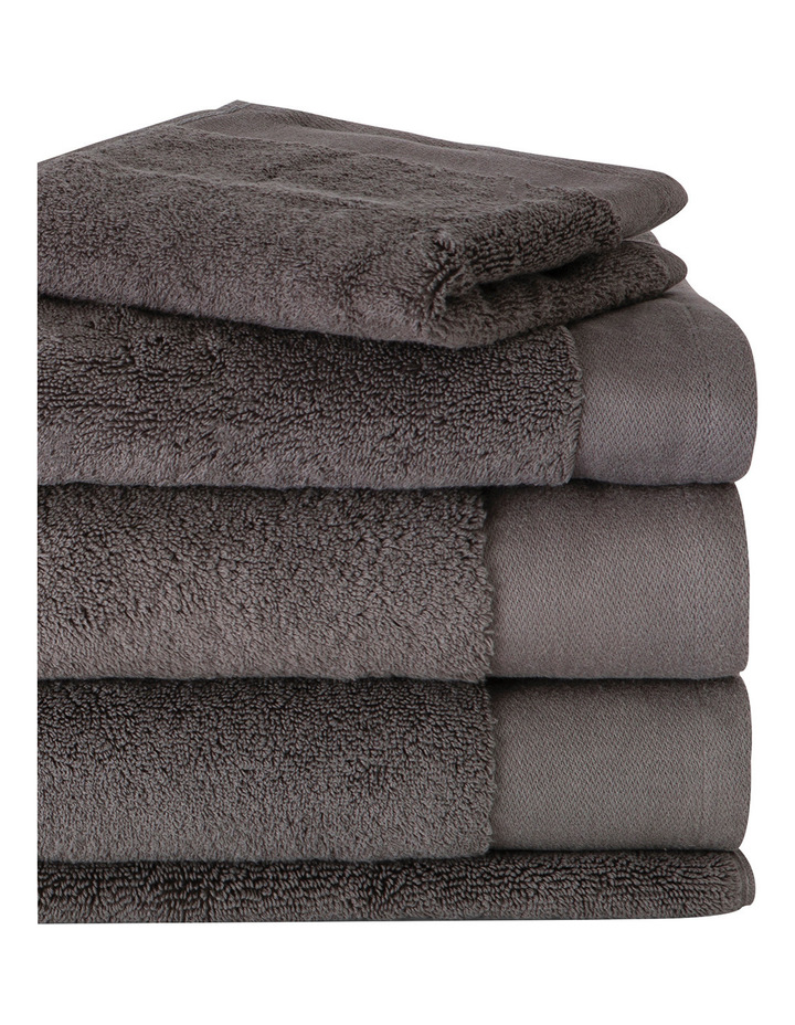 Luxury Retreat Collection Towel Range in Smoke image 2