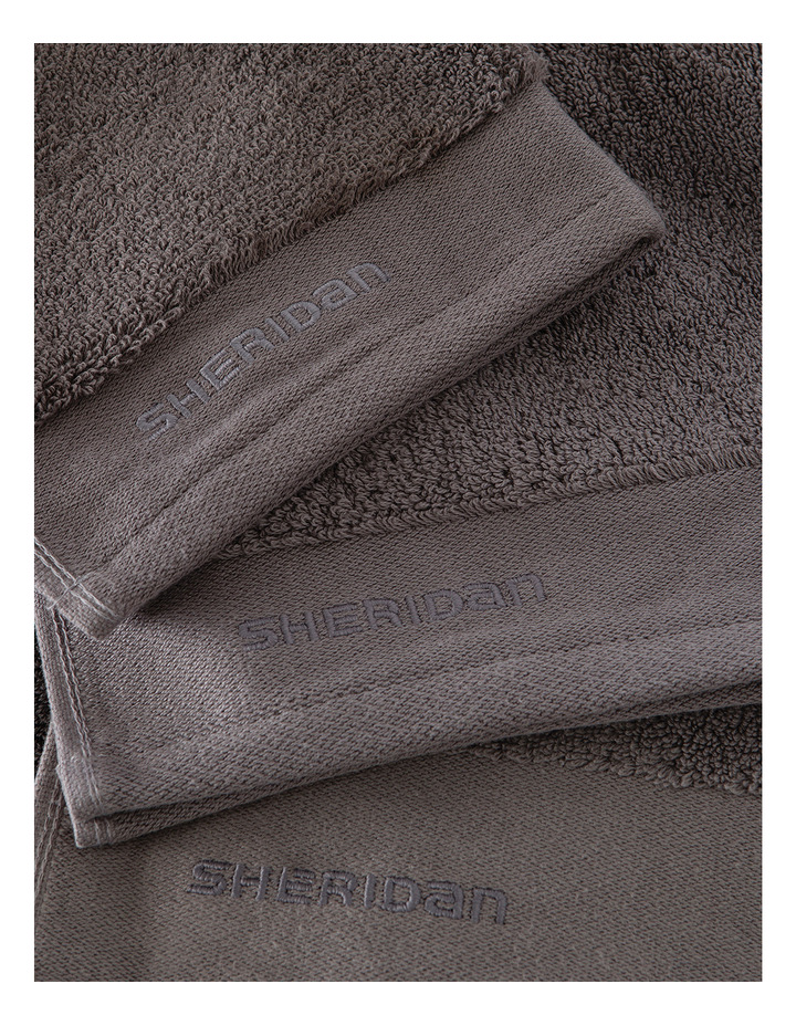 Luxury Retreat Collection Towel Range in Smoke image 3
