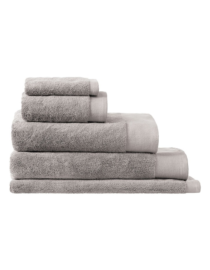 Luxury Retreat Collection Towel Range in Platinum image 1