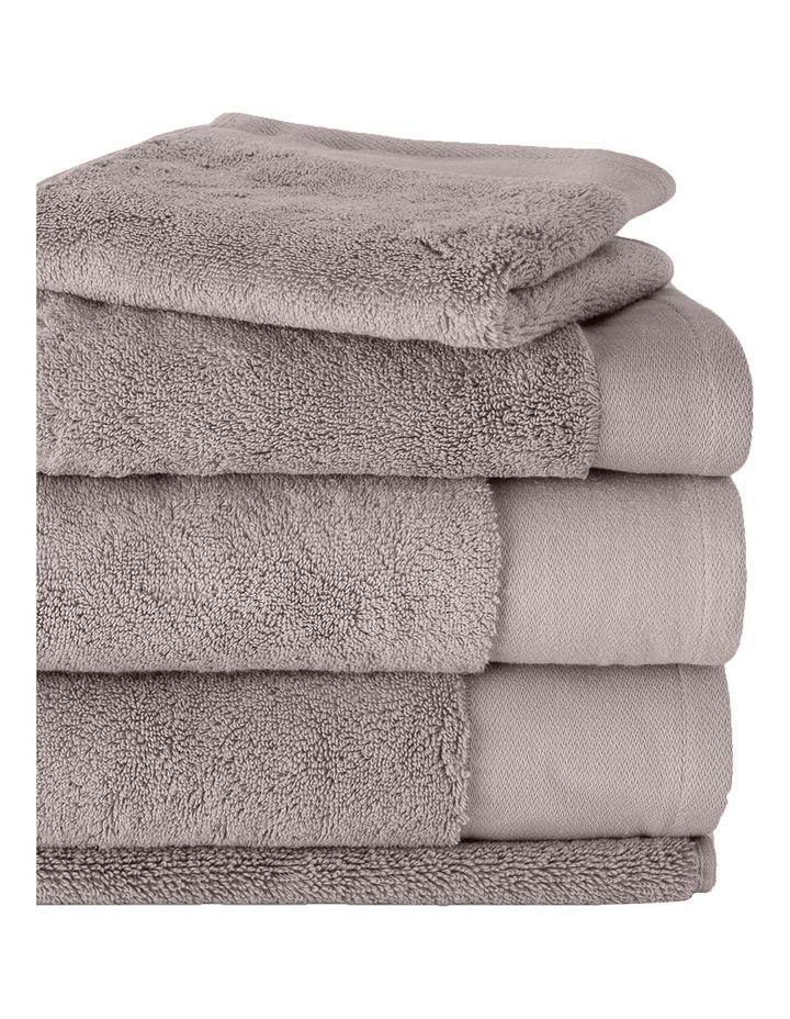 Luxury Retreat Collection Towel Range in Platinum image 2