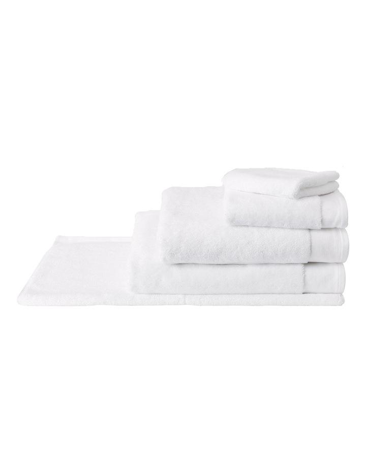 Luxury Retreat Collection Towel Range in White image 1