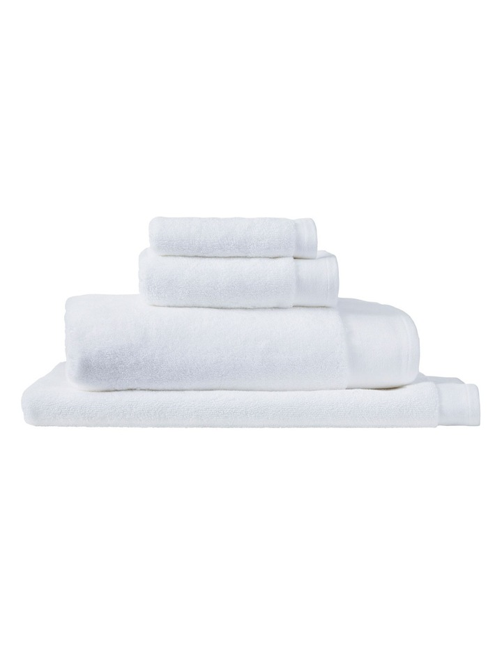 Luxury Retreat Collection Towel Range in White image 1