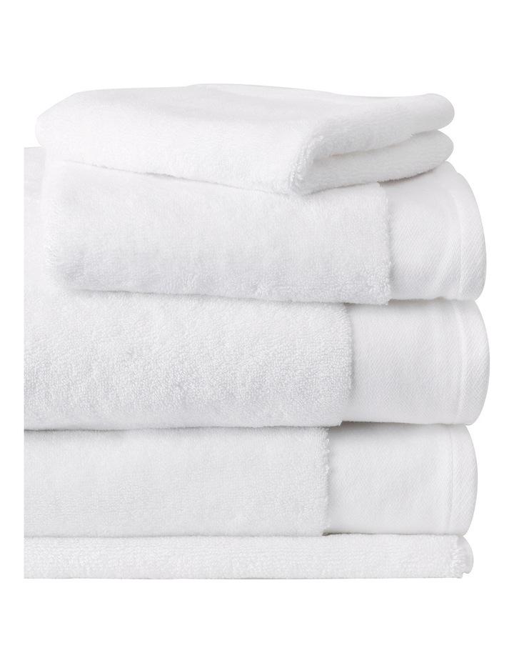 Luxury Retreat Collection Towel Range in White image 2
