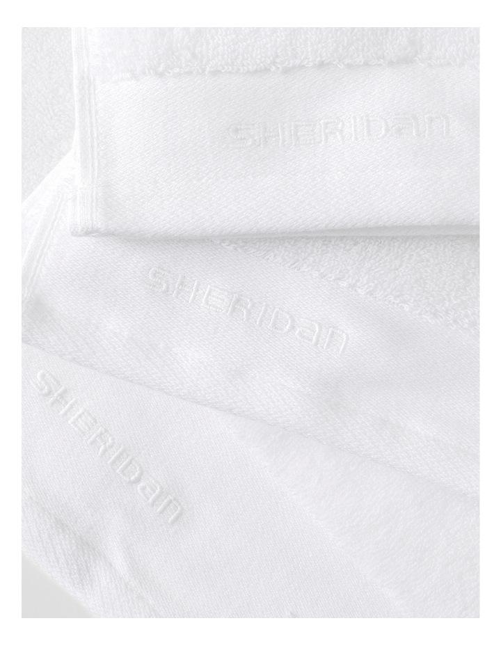 Luxury Retreat Collection Towel Range in White image 3