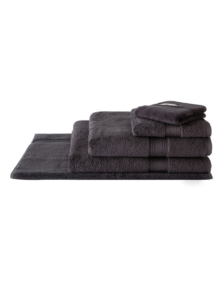 Quick Dry Luxury Towel Range in Graphite image 1