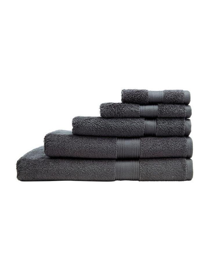 Quick Dry Luxury Towel Range in Graphite image 1
