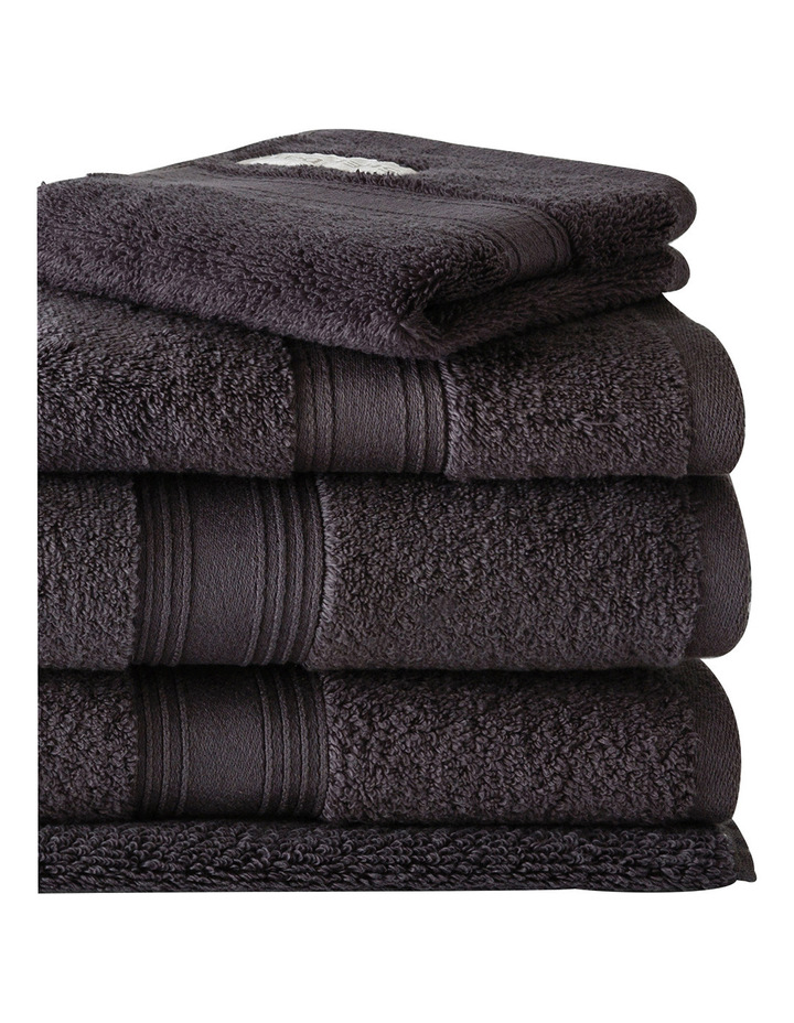Quick Dry Luxury Towel Range in Graphite image 2