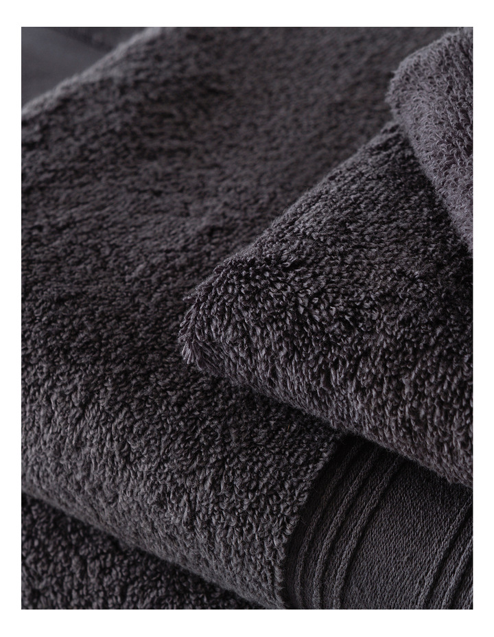 Quick Dry Luxury Towel Range in Graphite image 3