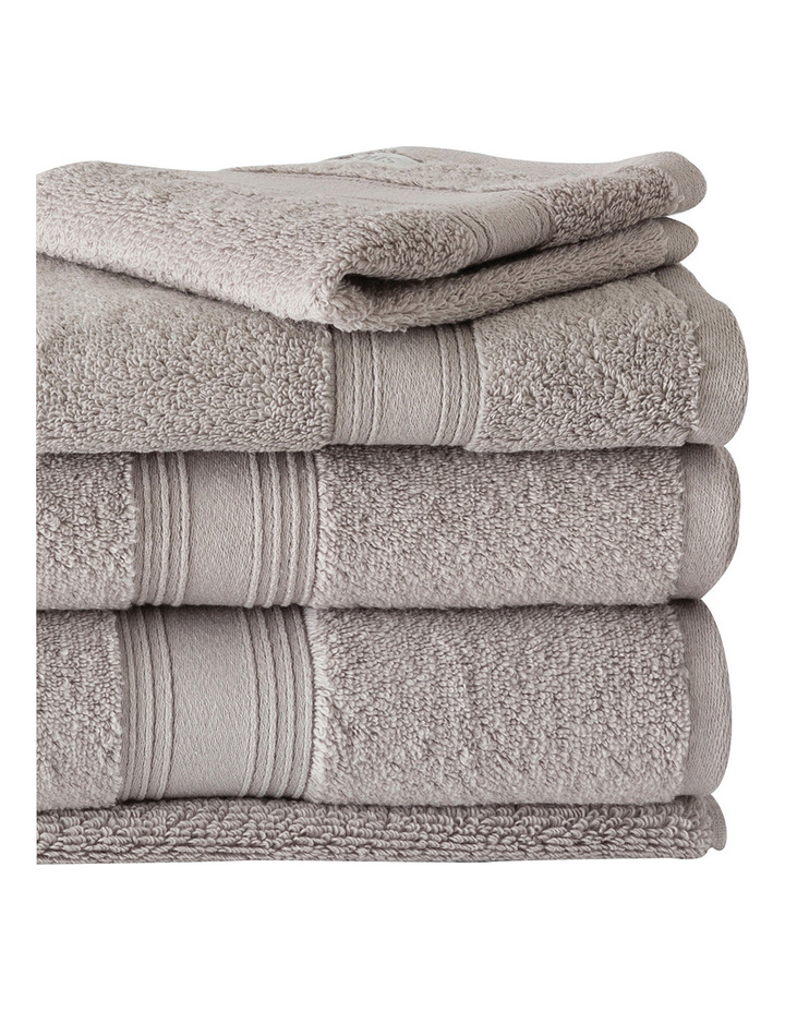 Quick Dry Luxury Towel Range in Silver image 3