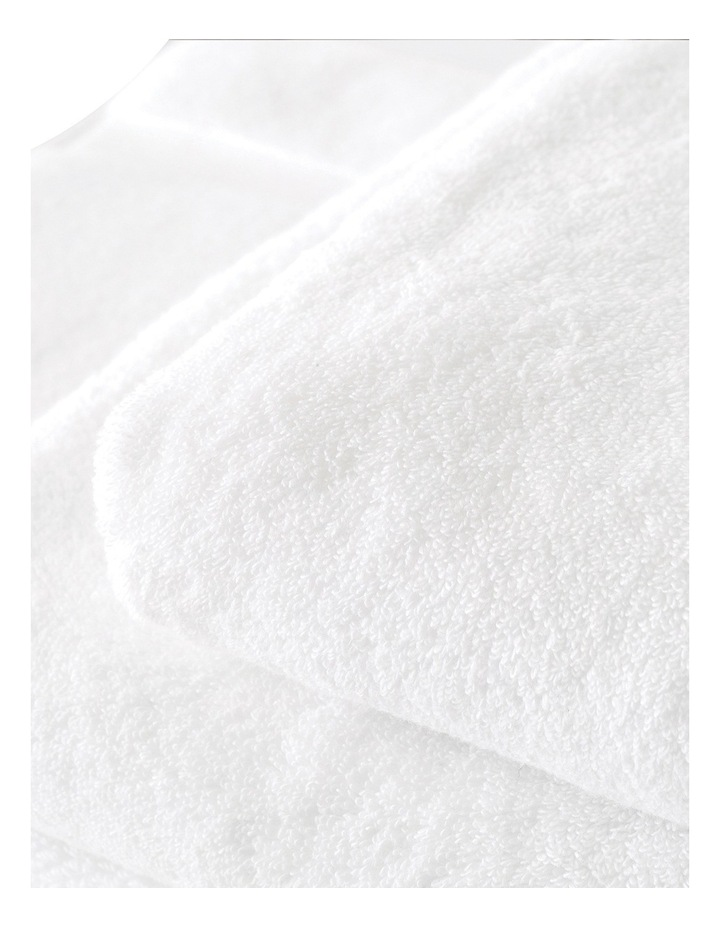 Quick Dry Luxury Towel Range in White image 4