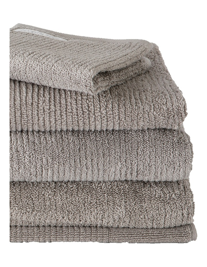 Living Textures Towel Range in Ash image 2