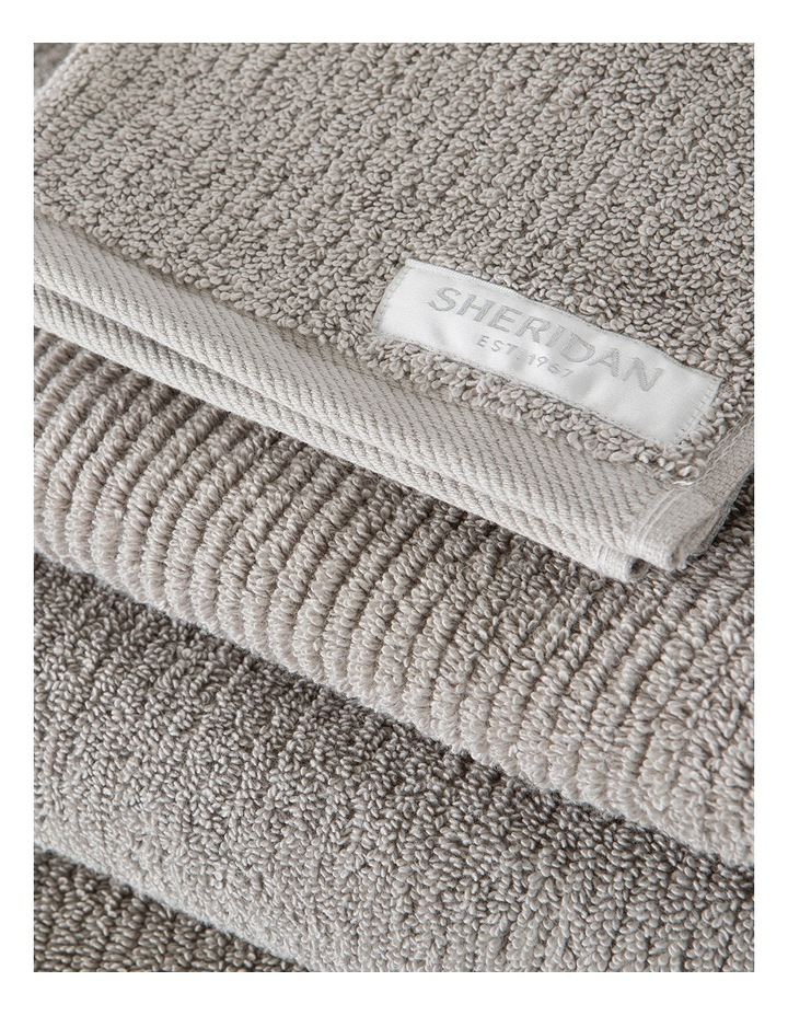 Living Textures Towel Range in Ash image 3