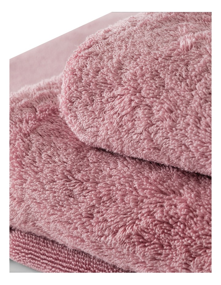 Luxury Egyptian Towel Range in Rosebud image 3