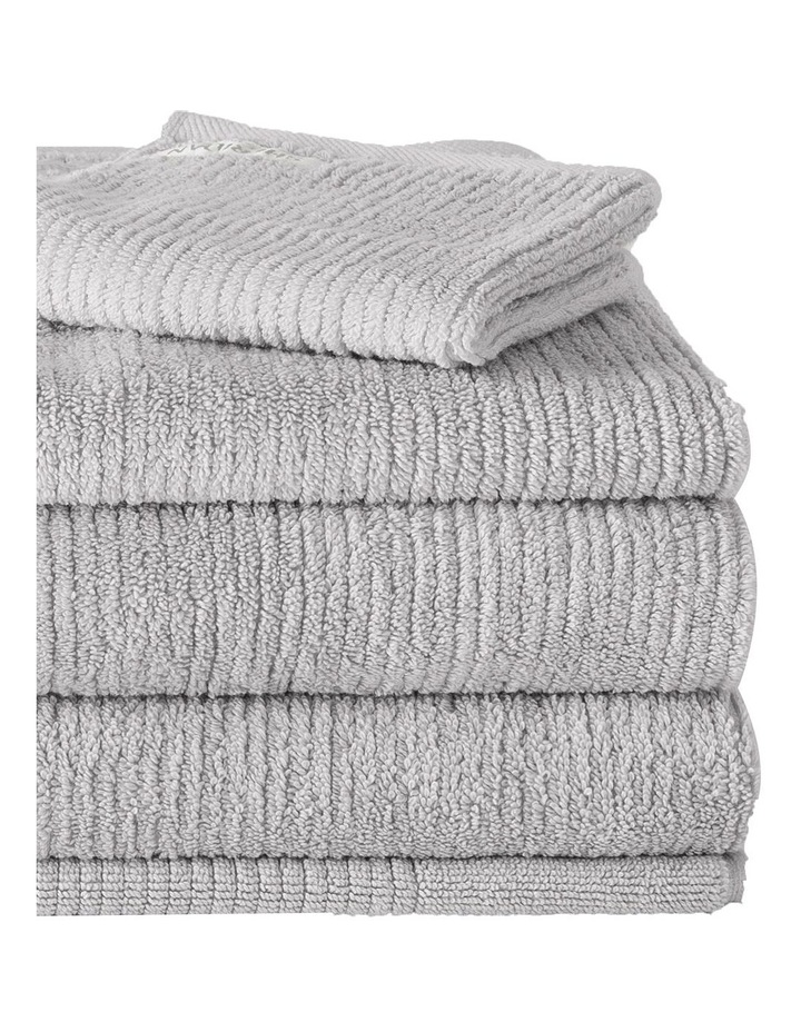Living Textures Towel Range in Silver image 4