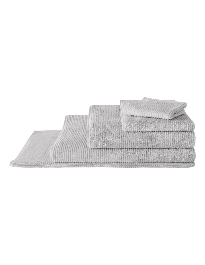 Living Textures Towel Range in Silver Grey image 1