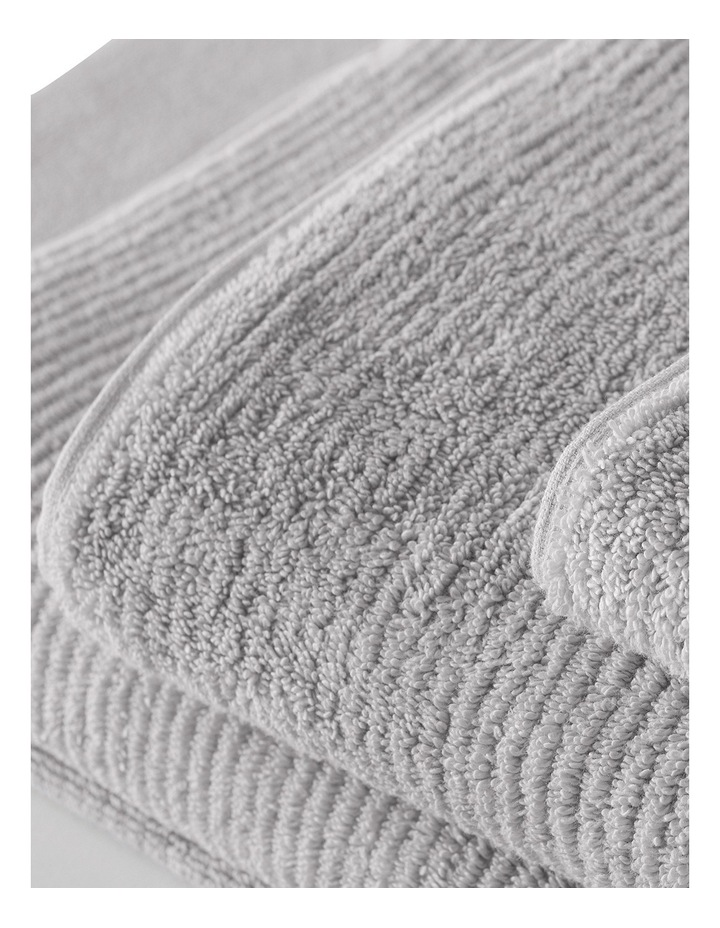 Living Textures Towel Range in Silver Grey image 3