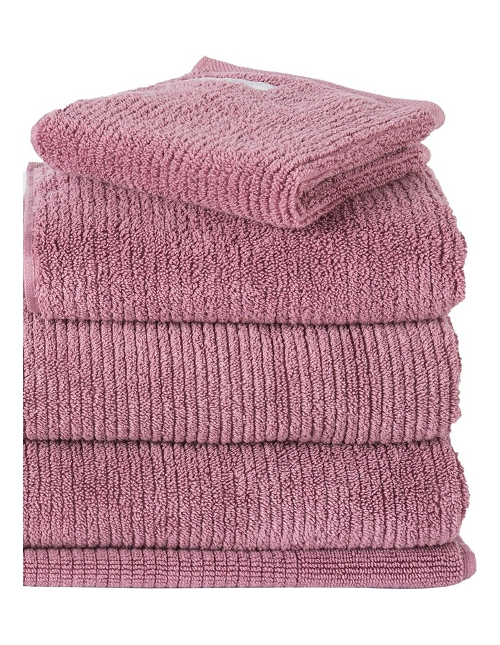 Living Textures Towel Range in Rosewood image 3