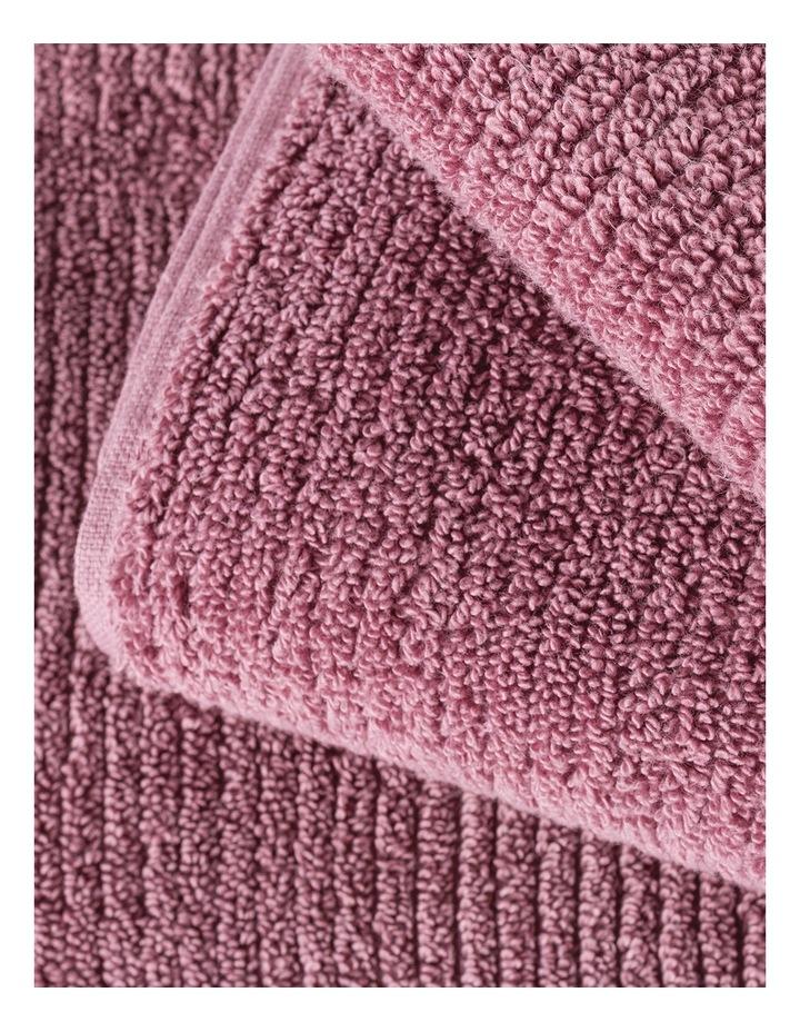 Living Textures Towel Range in Rose image 3