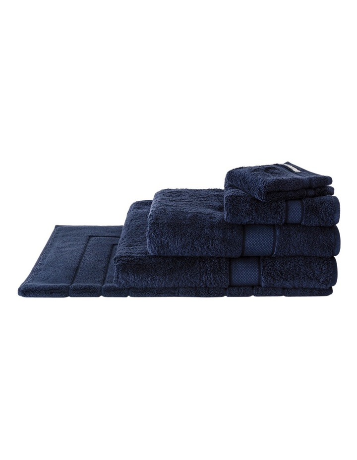 Luxury Egyptian Towel Range in Royal Navy image 1