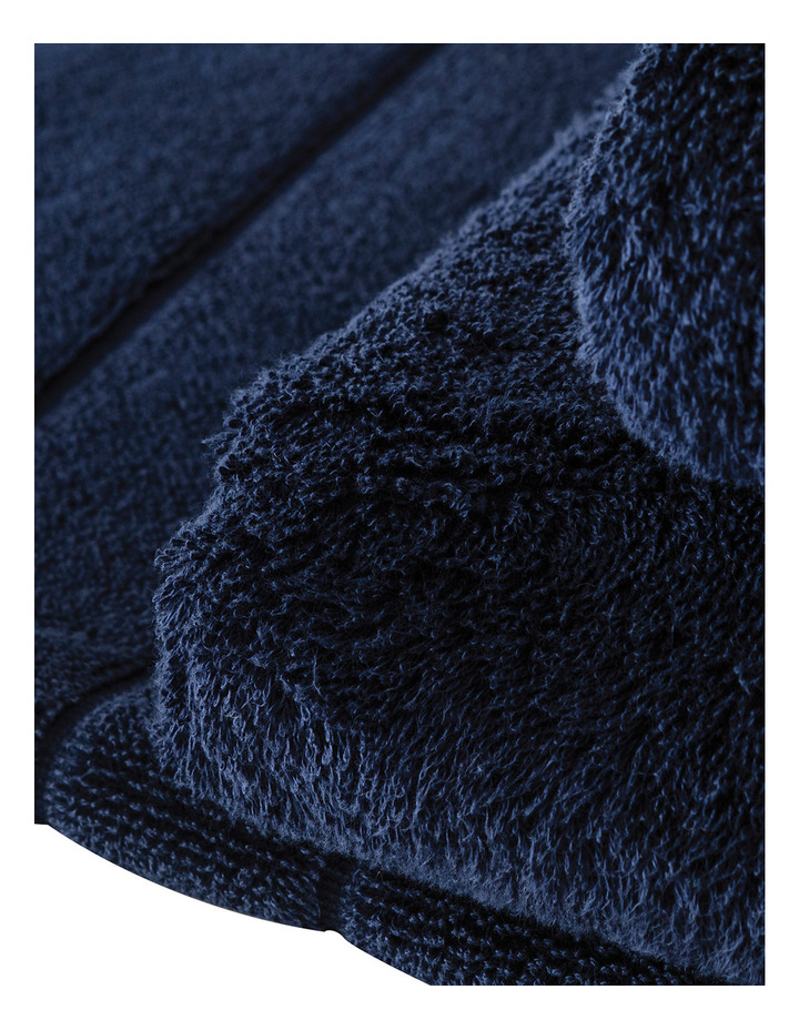 Luxury Egyptian Towel Range in Royal Navy image 3
