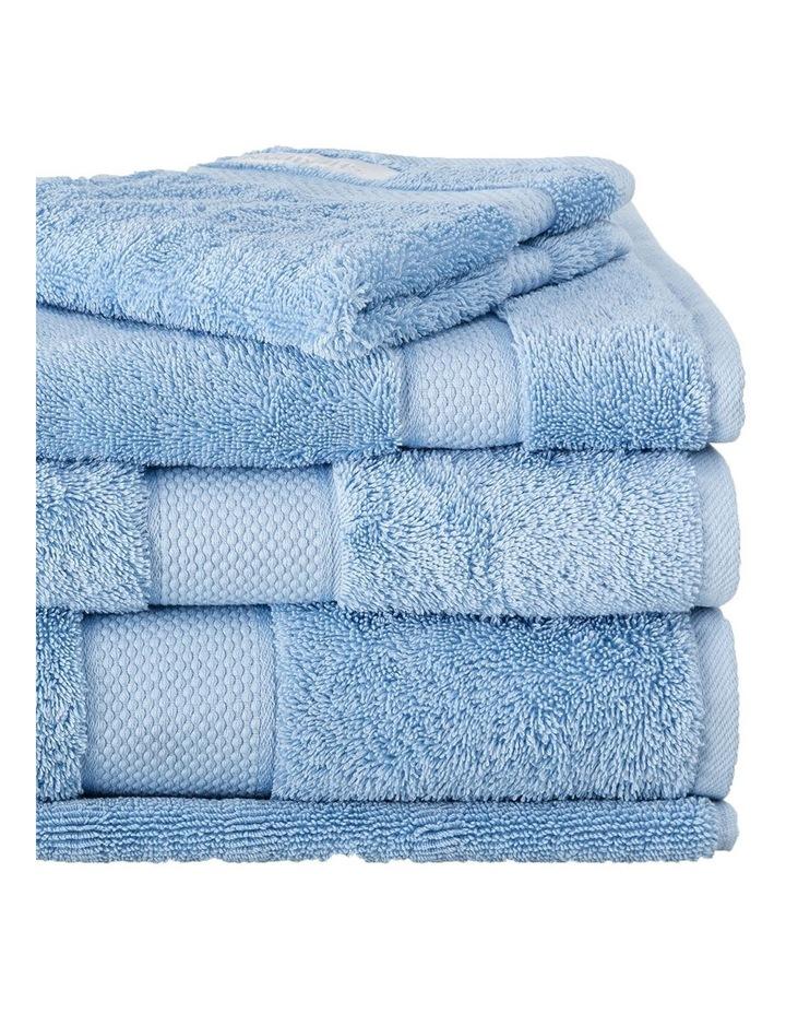 Luxury Egyptian Towel Range in Ocean image 2