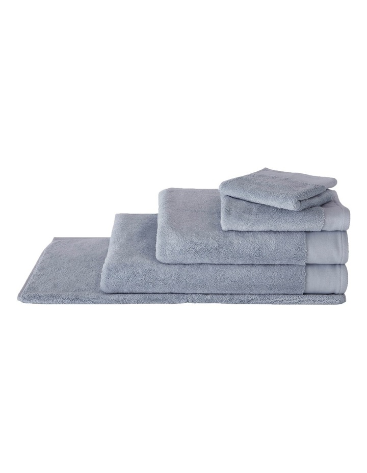 Luxury Retreat Collection Towel Range in Dusty Blue image 1
