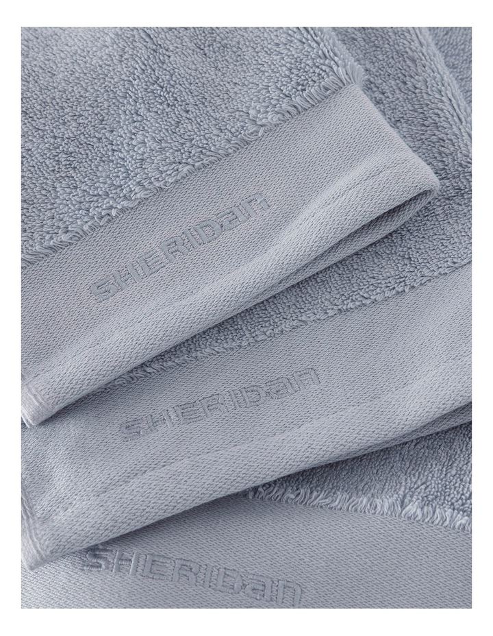 Luxury Retreat Collection Towel Range in Dusty Blue image 3