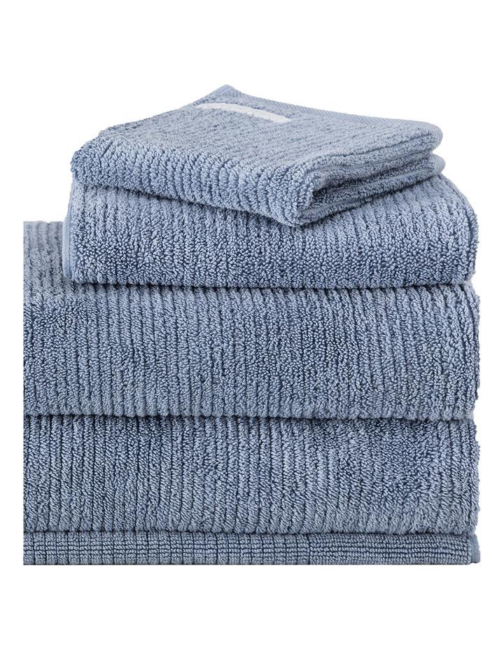Living Textures Towel Range in Orient Blue image 2