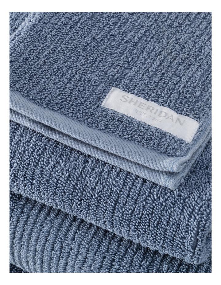 Living Textures Towel Range in Orient Blue image 3