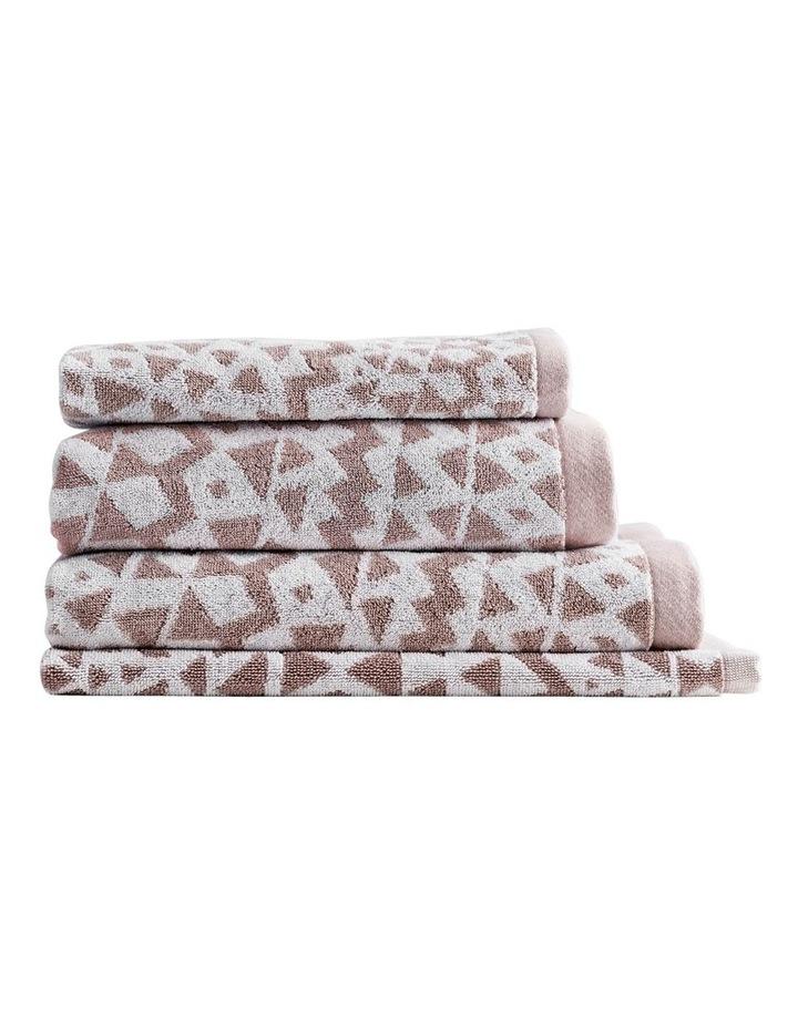 Inca Towel Range in Clay image 1