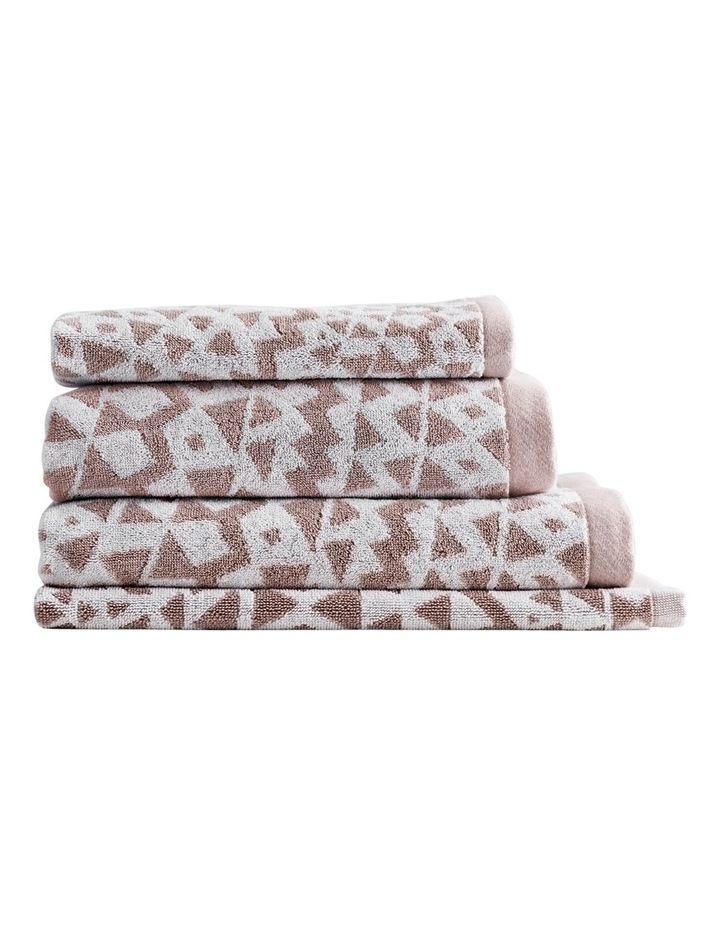Inca Towel Range in Clay image 1