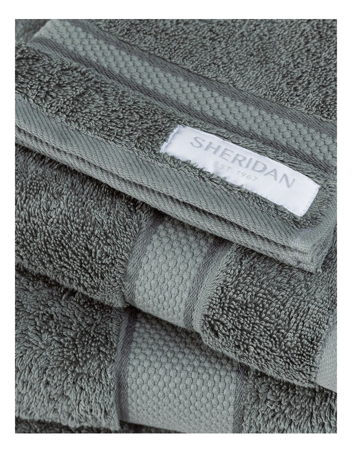 Luxury Egyptian Towel Range in Lagoon image 3