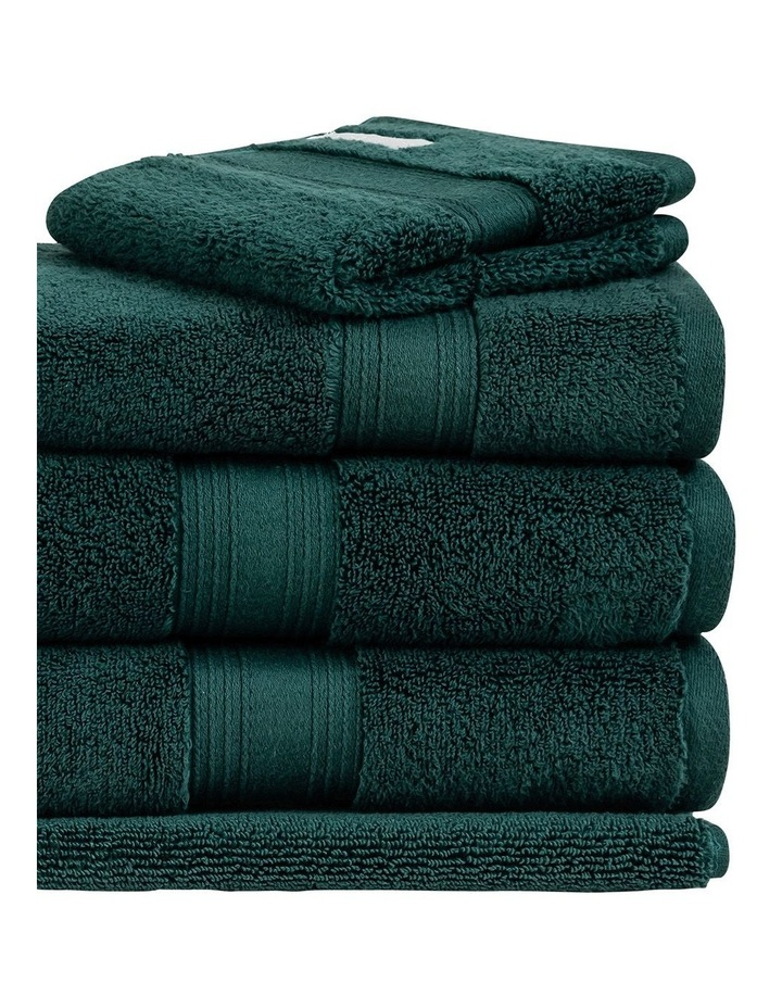 Quick Dry Luxury Towel Range in Forest image 2