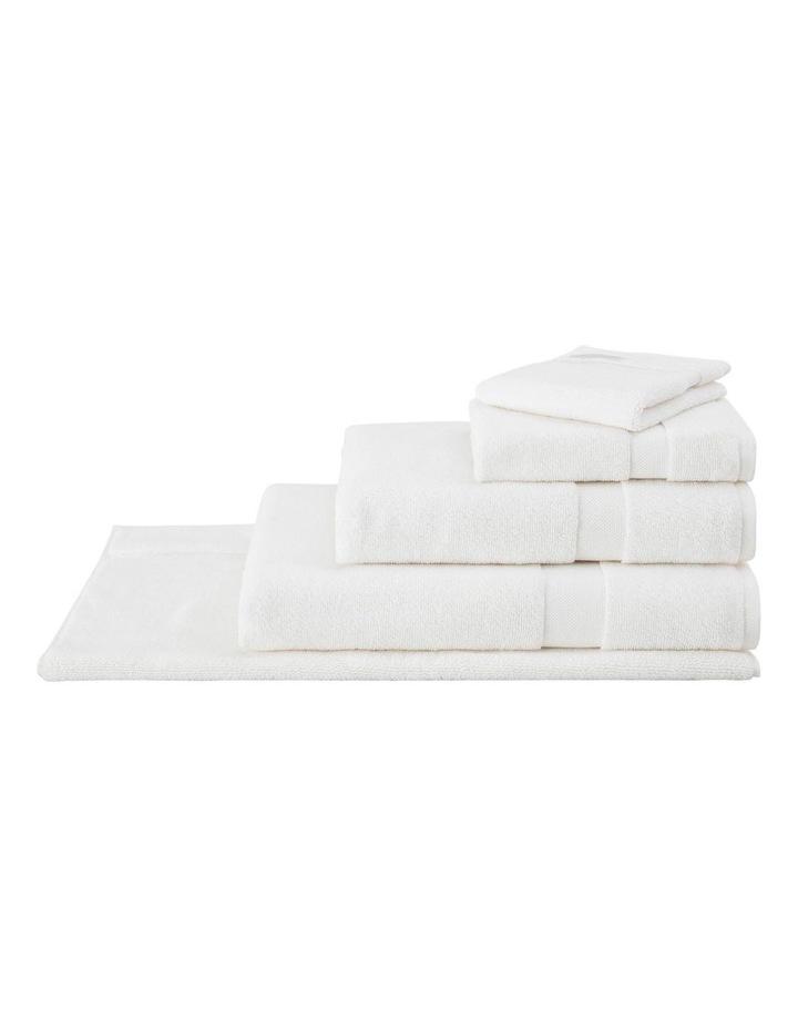 Organic Cotton Eden Towel Range in Ivory image 1