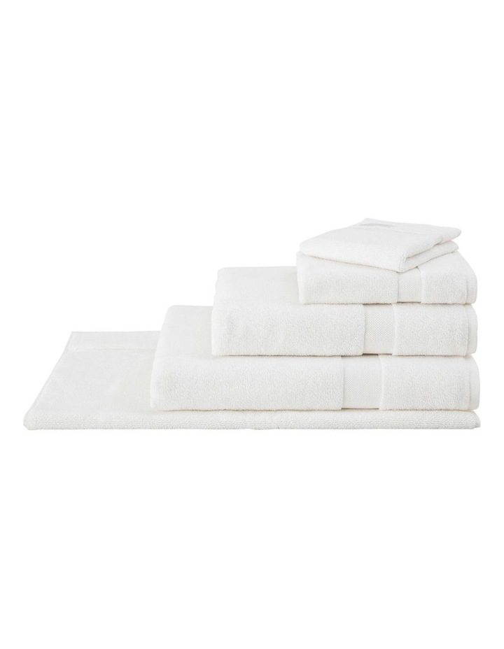 Organic Cotton Eden Towel Range in Ivory image 2