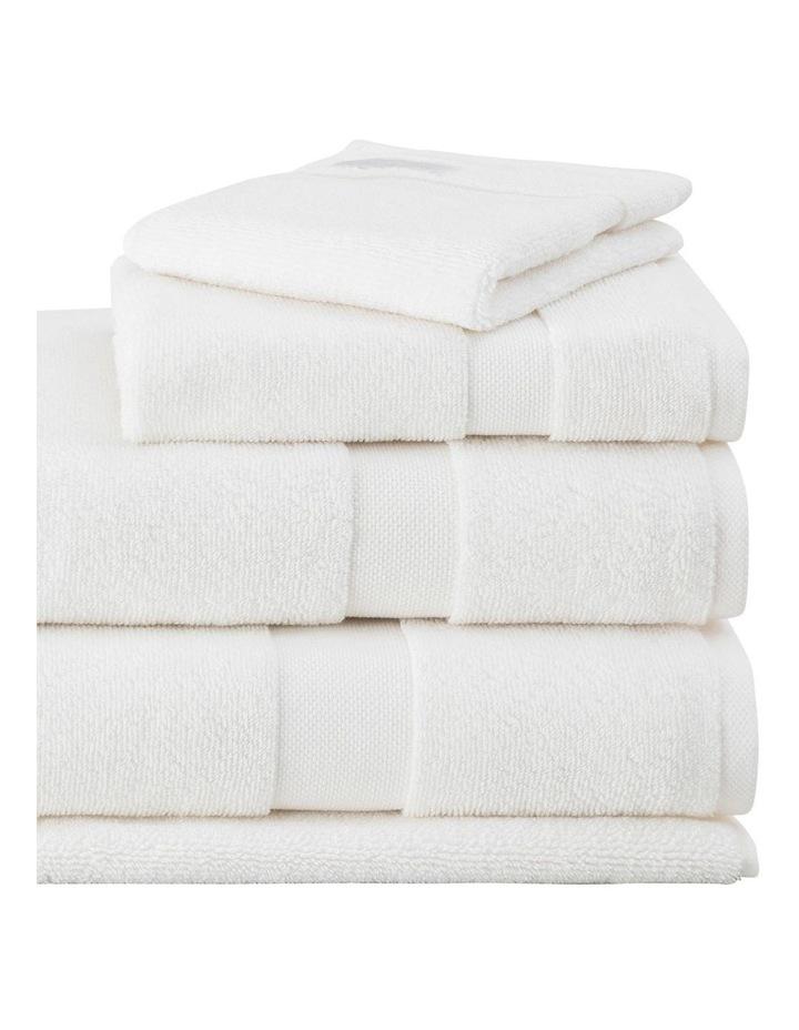 Organic Cotton Eden Towel Range in Ivory image 3