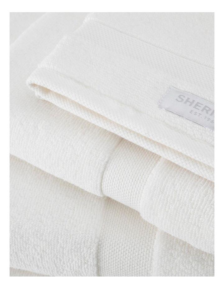 Organic Cotton Eden Towel Range in Ivory image 4