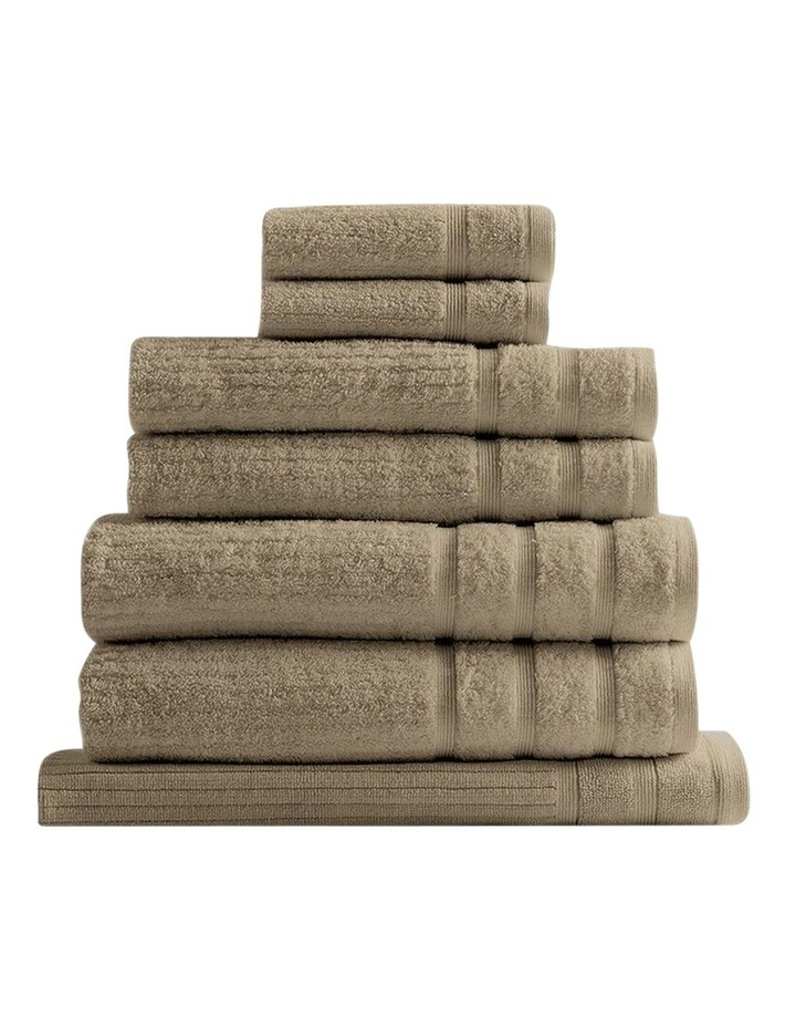 Royal Comfort Eden Egyptian Cotton 600 GSM 8 Piece Towel Pack in Champagne image 1