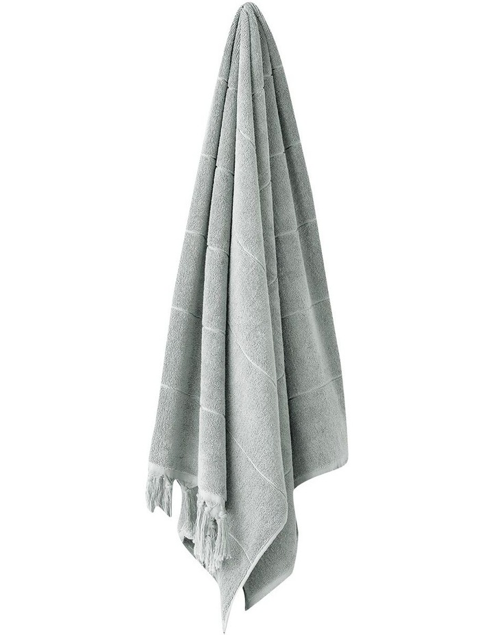 Paros Bath Towel Range in Limestone image 1