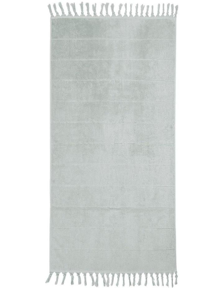 Paros Bath Towel Range in Limestone image 2